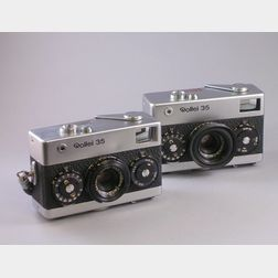 Two Rollei 35 Cameras