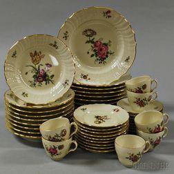 Royal Copenhagen Porcelain Dinner Service
