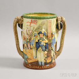 Royal Doulton Ceramic Admiral Nelson Loving Cup