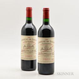 Chateau De Sales 1995, 2 bottles