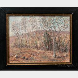 Guy Carleton Wiggins (American, 1883-1962)      Lyme Woods