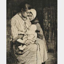 William Lee Hankey (British, 1869-1952)      Maternite