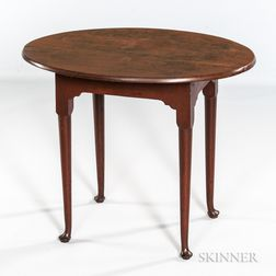 Red-painted Tea Table