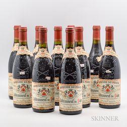 Domaine du Pegau Chateauneuf du Pape Cuvee Reservee 1995, 10 bottles