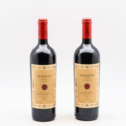 Tenuta dellOrnellaia Masseto 1997, 2 bottles