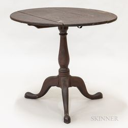 Queen Anne Painted Tilt-top Tea Table