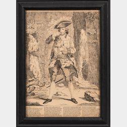 Four 18th Century British Prints:      Poll Primrose