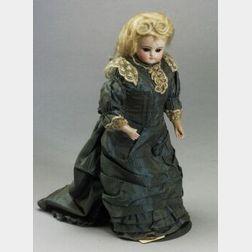 Turned Bisque Shoulder Head Doll