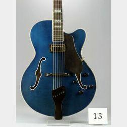 American Archtop Guitar, John Buscarino, c. 1990, Model Artisan Hybrid