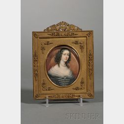 Portrait Miniature of Eleonora Gonzaga della Rovere