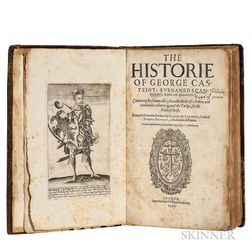 Barleti, Marin (c. 1460-1512 or 1513) The Historie of George Castriot, Surnamed Scanderbeg, King of Albanie.