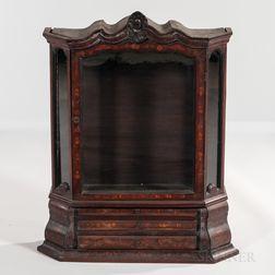 Inlaid Mahogany Table Cabinet