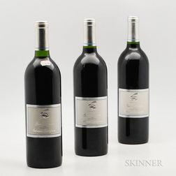 Rabbit Ridge Ranch Cabernet Sauvignon 1995, 3 bottles