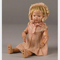 Small Schoenhut Toddler Doll