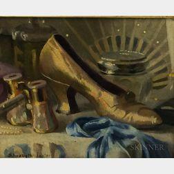 Elizabeth Vaughan Okie Paxton (American, 1877-1971)      The Golden Slipper