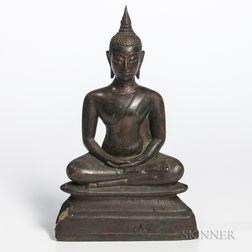 Seated Bronze Buddha