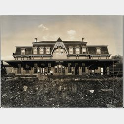 Walker Evans (American, 1903-1975)       Railroad Depot, Bethlehem, Pennsylvania
