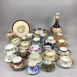 Group of Ceramic Tableware