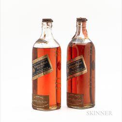 Johnnie Walker Black Label 12 Years Old, 2 4/5 quart bottles