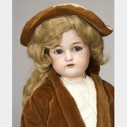 Large K * R Flirty Eyed Bisque Doll