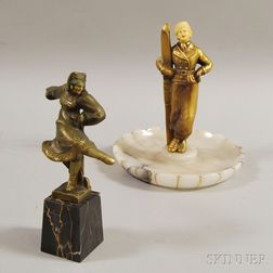 Two Figural Items