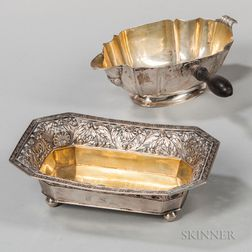 Two Pieces of Continental Silver Tableware