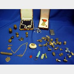 Miscellaneous Lot of Most Men's Jewelry and Assorted Items