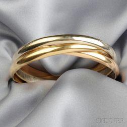 18kt Gold Trinity Bracelet, Cartier
