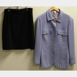 Two Woman's Gianni Versace Wool Items