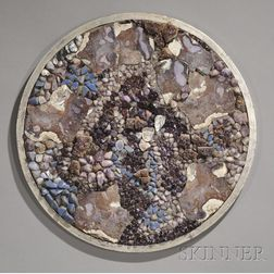 Miriam Rogers (1900-1994) Stone Mosaic Wall Hanging