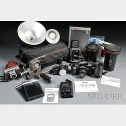 Group of Miscellaneous Camera and Darkroom Equipment and Accessories