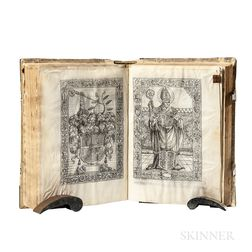Missal, Use of Eichstätt. Missale S[ecundu]m Choru[m] et Ritu[m] Eysteten[sis] Ecclesie.