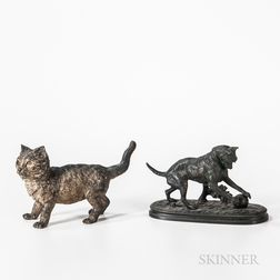 Two Bronze Animal Figures