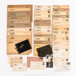 Collection of 1930s/Early 1940s Motion Picture Industry Autographs, Signed Photographs, and Letters.