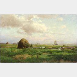 Edmund E. Case (American, 1844-1919)  Plum Island Sound