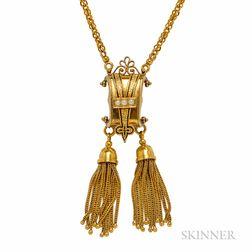 14kt Gold Victorian Revival Necklace