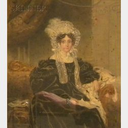 British School, 19th Century      Portrait of a Seated Woman