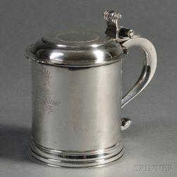Daniel Rogers Early American Coin Silver Tankard