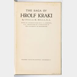 Mills, Stella Marie (1903-1989) The Saga of Hrolf Kraki.
