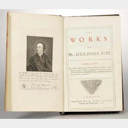 Pope, Alexander (1688-1744) The Works.