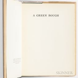 Faulkner, William (1897-1962) A Green Bough  , Trade Edition.