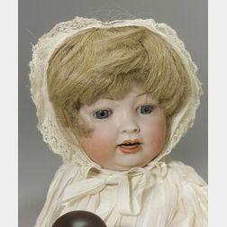 Hertel Schwab Bisque Head Character Baby