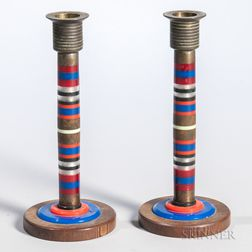 Pair of Decorative Candlesticks