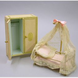 Two Pieces of Dollhouse Furniture