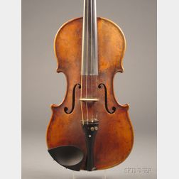 Modern German Violin, Karl Herrmann, c. 1920