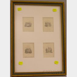 Framed Etchings, Les Noces de Cana
