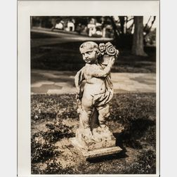 Walker Evans (American, 1903-1975)       Statuette of a Cherub, Florida
