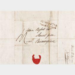 Josiah Wedgwood I Letter Dated 1790