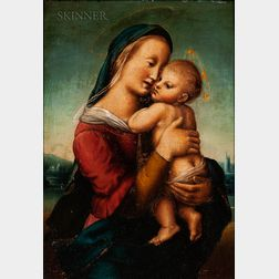 After Raphael (Italian, 1483-1520)      Copy of the Tempi Madonna
