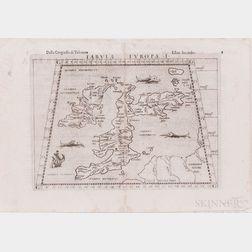 Europe. Ptolemy (c. 100-c. 170 AD); Girolamo Ruscelli (1518-1566) Eleven Engraved Maps, c. 1561-1599.